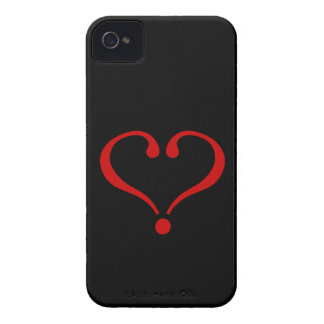 Open red Heart and love in day of San Valentin iPhone 4 Case-Mate Cases