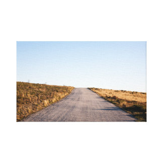 Open Road Landscape Canvas Print
