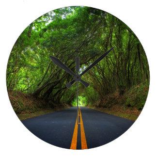 open road nature clock