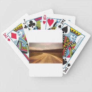 Open Road Nostalgic Postcard Image Poker Deck