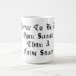 Open Sinner Coffee Mug