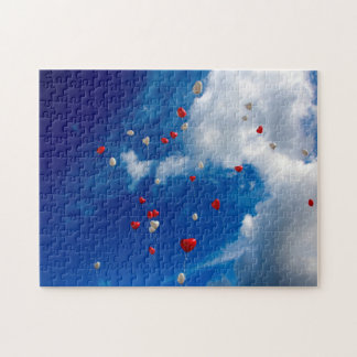 Open Sky with Balloons Jigsaw Puzzle