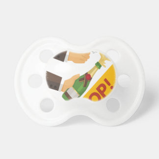 Open That Bottle Night - Appreciation Day Baby Pacifiers