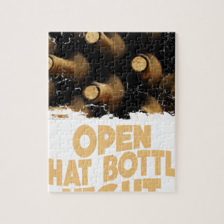 Open That Bottle Night - Appreciation Day Jigsaw Puzzle
