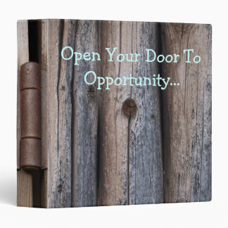 Open The Door To Opportunity Binder