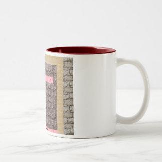 open the secret Two-Tone coffee mug