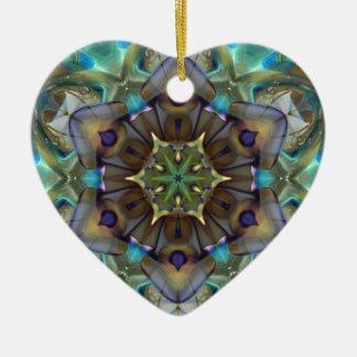 Open to Love Heart Ceramic Ornament