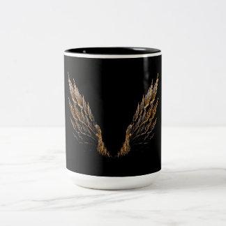 Open Wings Two-Tone Coffee Mug
