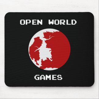 Open World Games Mousepad