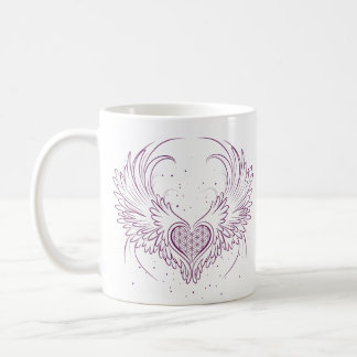 Open Your Heart to Connect With Your Angels Mug