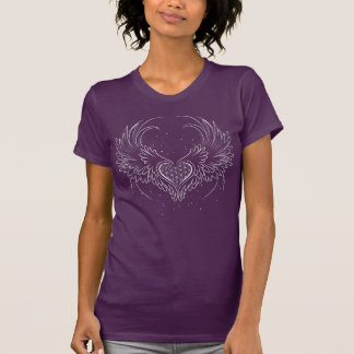 Open Your Heart to Connect With Your Angels T-Shirt