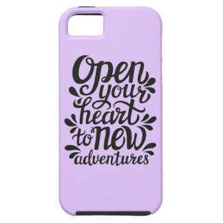 Open Your Heart To New Adventures Case For The iPhone 5