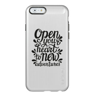 Open Your Heart To New Adventures Incipio Feather® Shine iPhone 6 Case