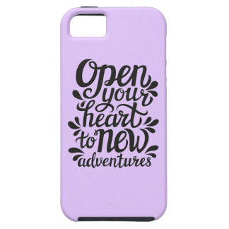 Open Your Heart To New Adventures iPhone 5 Cover