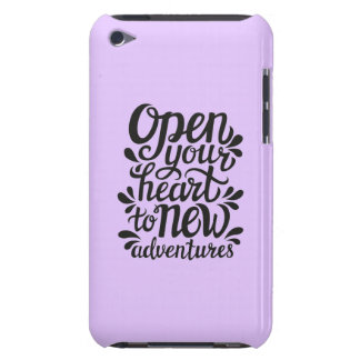 Open Your Heart To New Adventures iPod Touch Cover