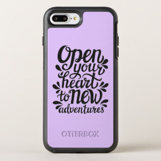 Open Your Heart To New Adventures OtterBox Symmetry iPhone 8 Plus/7 Plus Case