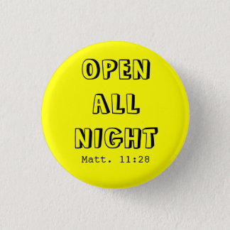 OPENALL NIGHT 1 INCH ROUND BUTTON