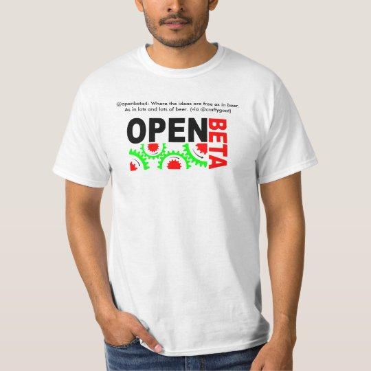openbeta4, @openbeta4: Where the ideas are free... T-Shirt