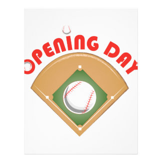 Opening Day Letterhead