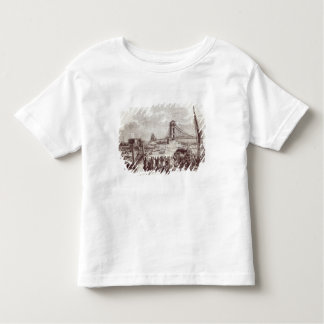 Opening of the Hungerford Suspension Bridge Toddler T-shirt