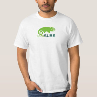 OpenSUSE White T-Shirt