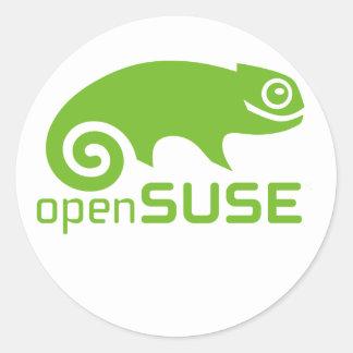 openSuzie Linux Logo Classic Round Sticker