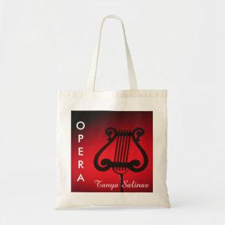 Opera Bag Personalized | Performer Composer Singer