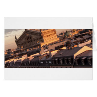 Opera Garnier, Paris, France Card