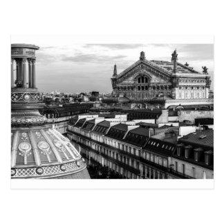 Opera Garnier, Paris, France Postcard