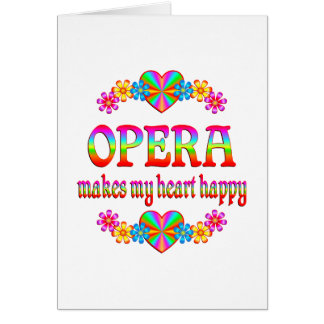 Opera Heart Happy Card