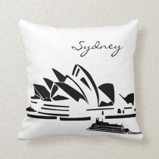 Opera House in Sydney Australia Landmark Pillow