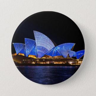 Opera House Sydney Australia 3 Inch Round Button