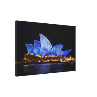 Opera House Sydney Australia Canvas Print