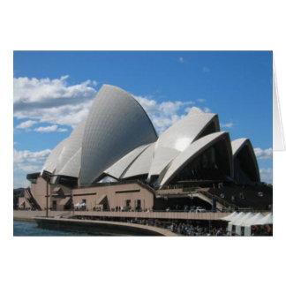 Opera House, Sydney Australia Card