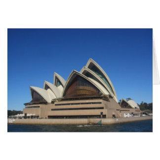 opera house sydney card