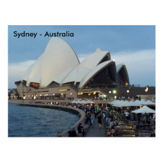 Opera House, Sydney, New South Wales, Australia Postcard