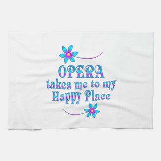 Opera My Happy Place Kitchen Towel
