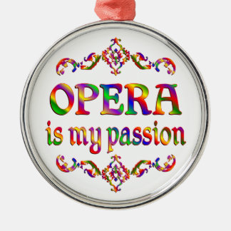 Opera Passion Metal Ornament