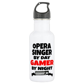 Opera Singer by Day Gamer by Night 532 Ml Water Bottle
