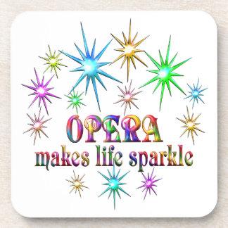 Opera Sparkles Beverage Coaster