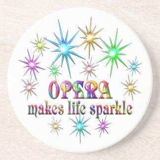 Opera Sparkles Drink Coaster