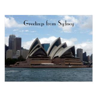 opera sydney postcard