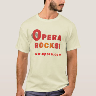 Opera Web Browser Shirt