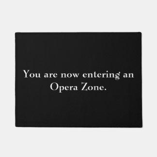 """""""Opera Zone"""" doormat"""