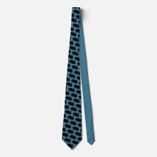 Operating Engineer Bulldozer Vintage Silhouette Tie
