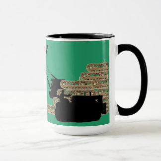 Operating Engineer Crane Operator Bulldozer Tracks Mug