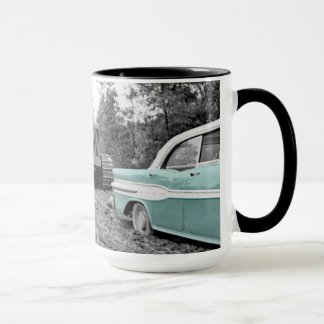 Operating Engineers Bulldozers n 1958 Pontiac Car Mug