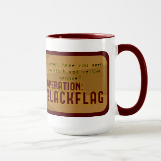 "operation: BLACKFLAG ""Greffen"" mug"