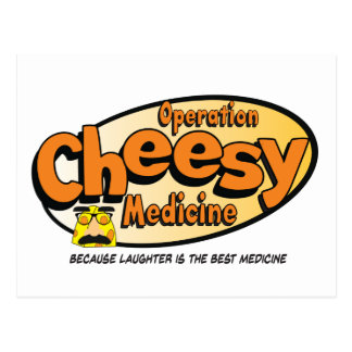 Operation Cheesy Medicine Official Postcard