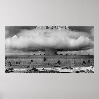 Operation Crossroads - Detonation Baker - Hires Poster